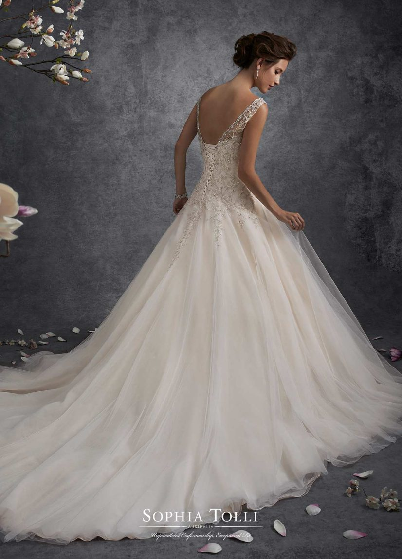Sophie S Squishy Collection : Sophia Tolli Archives - The Bridal Mill